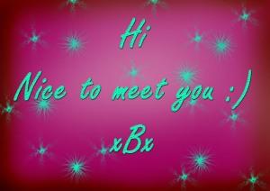 Hi - By ComfortablyNumb